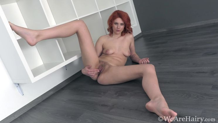 Kristina Amanda strips naked after a workout